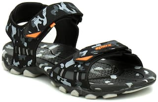 Sparx Men Black Floaters