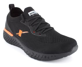 Sparx Men SM-443 Running Shoes ( Black & Orange )