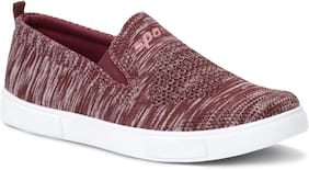 Men Maroon Casual Shoes ,Pack Of 1 Pair