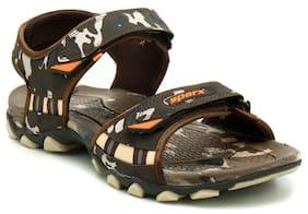 Sparx Men Brown Sandals & Floaters