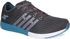 Sparx Men SM-425 Dark Grey Turkey Blue Sports Shoes