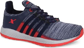 Sparx Men SM-410 Navy Red Sports Shoes