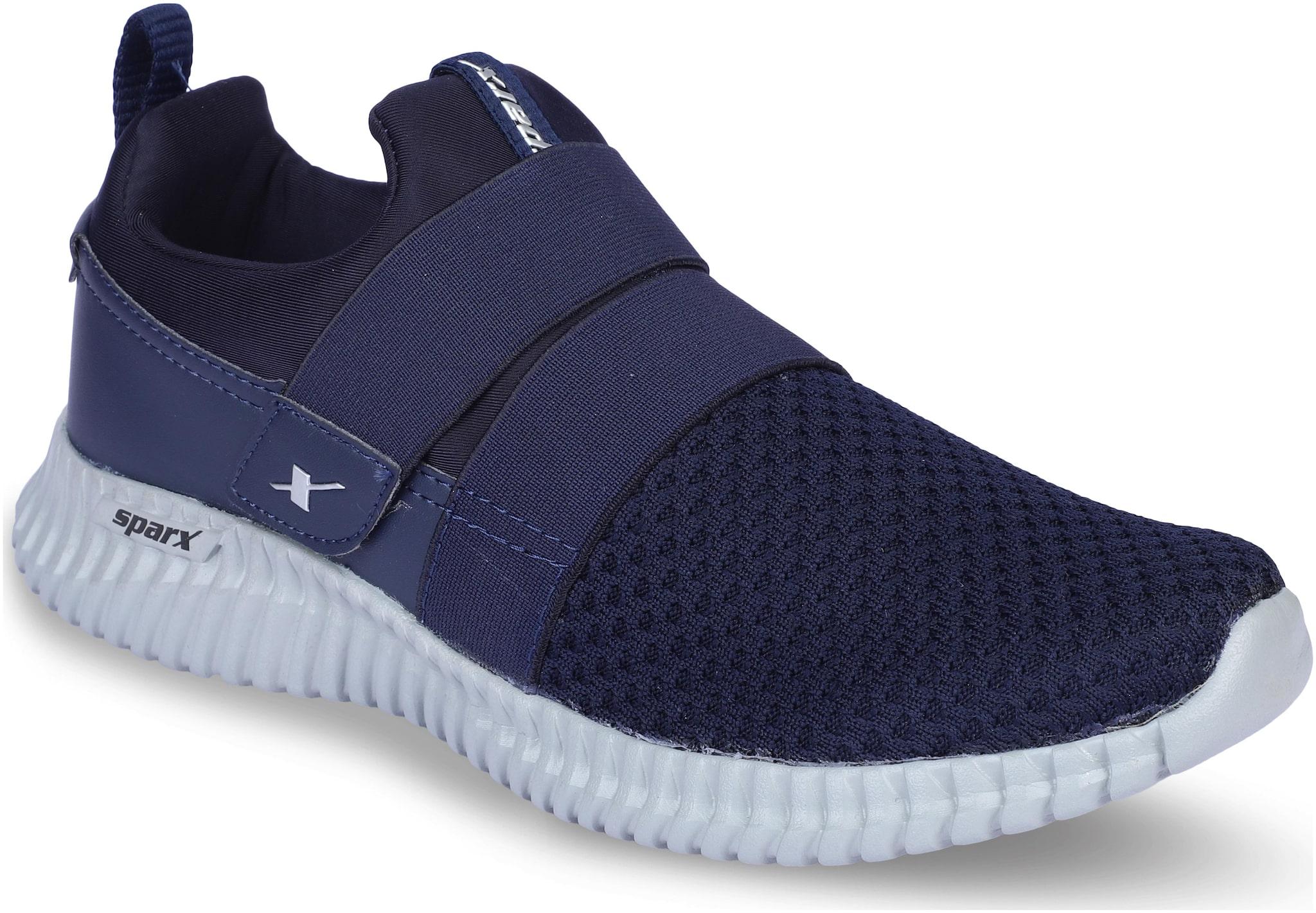 Sparx Men Walking Shoes ( Navy Blue