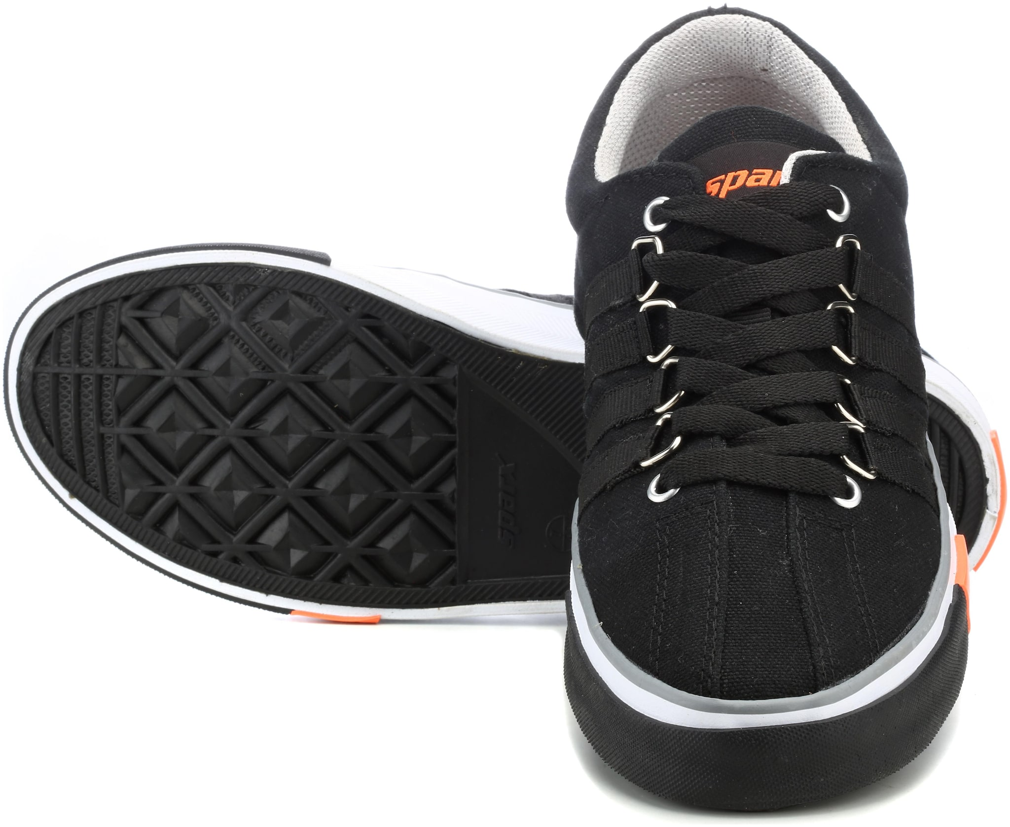 Buy Sparx Men's Black Sneakers (SM-162
