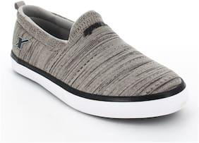 Men Grey;Black Casual Shoes