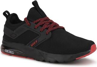 Sparx Men SM-602 Running Shoes ( Black & Red )