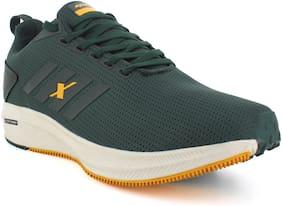 Sparx Men SM-676 Running Shoes ( Green & Yellow )