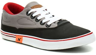 Sparx Men SM-322 Black Grey Casual Shoes
