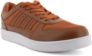 Sparx Men Tan & White Casual Shoes - SD0439GTNWH