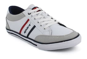 Men White Casual Shoes