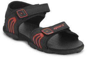 SS0702G Sparx Men Sandal(SS-702 Black Red)