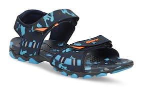 Sparx Men SS-467 Blue Camouflage Sandals