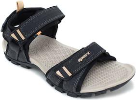 Sparx Men SS-481 Black Beige Sandals