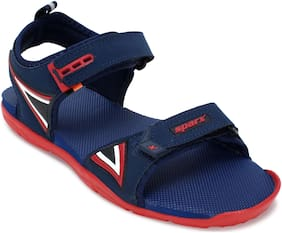 9bf810e0b4f Buy Asian Men Navy Blue Sandals & Floaters Online at Low Prices in ...