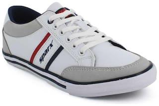 Sparx Men White Casual Shoes - SC0486GWHNB