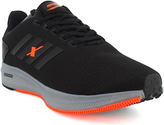 Sparx SM-676 Running Shoes For Men (Black)