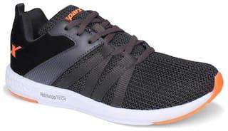 Sparx Men SM-397 Fluorescent Running Shoes ( Black )
