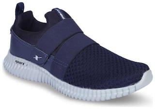 Sparx Men SM-406 Walking Shoes ( Navy Blue )
