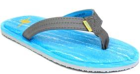 Sparx Women's Blue & Grey Slipper (SFL-2036)