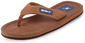 Sparx Men Tan Flip-Flops - 1 Pair