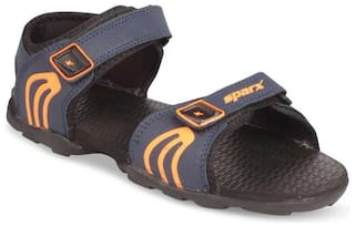 Sparx Synthetic Navy Blue Floater For Men
