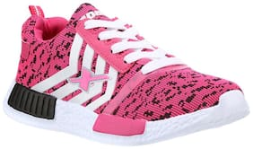 Sparx Women's Pink & White Running Shoes (SL-83)