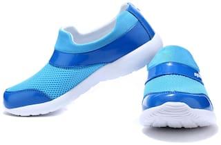 Sparx Women's Blue & White Running Shoes (SL-89)