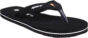 Sparx Women Solid Flip flops - Uk 6 , Black