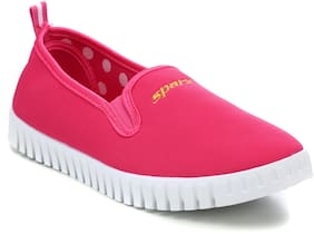 Sparx Women Pink Classic Sneakers