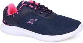 Sparx Women Running Shoes ( Navy Blue )