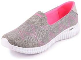 Sparx Women Grey Pink Sports Lifestyle Walking Shoes