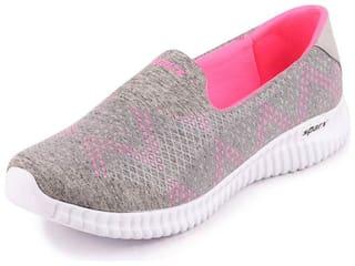 Sparx Women SL 123 GREY PINK Walking Shoes ( Grey )