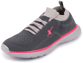 Sparx Women SL-146 D.GREY PINK Running Shoes ( Grey )