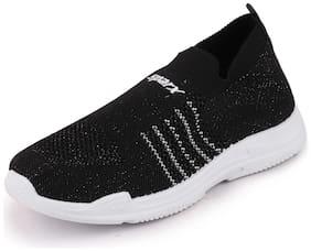 Sparx Women SL-141 BLACK WHITE Walking Shoes ( Black )