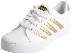 Sparx Women White Sneakers
