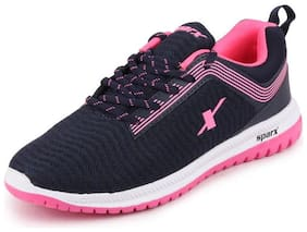 Sparx Women SL 164 NAVY BLUE PINK Running Shoes ( Blue )