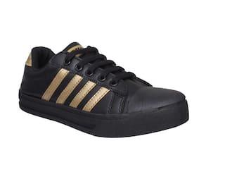 Sparx Women Black Sneakers