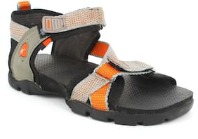 Sparx Women Grey & Orange Floaters