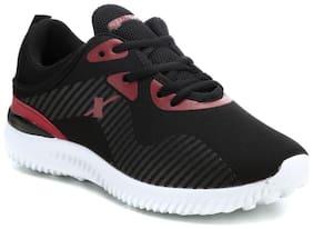 Sparx Women Black & White Sneakers