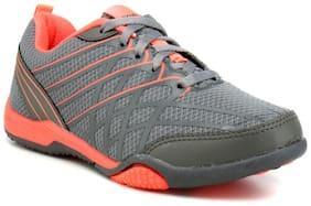 Sparx Women's Dark Grey & Peach Running Shoes (SL-100)