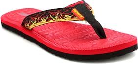 Sparx Women Solid Flip flops - Uk 4 , Red