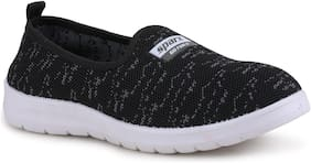 Sparx Women Black Slip-On Shoes