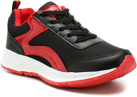 Sparx Women's Black & Red Running Shoes (SL-513)