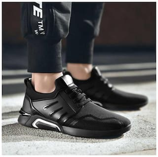 FANTUM Training/Gym Shoes For Men ( Black )