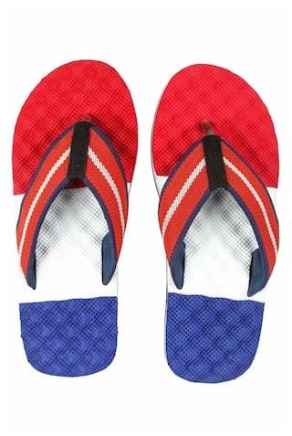 bae9c10f36b0 Buy Spunk Men Red Flipflop Online at Low Prices in India - Paytmmall.com
