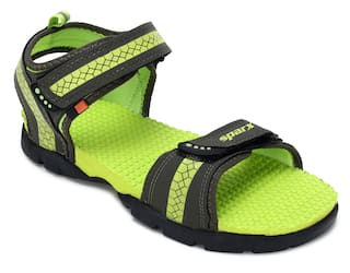 6a23824c Buy Sparx Men Green Sandals & Floaters Online at Low Prices in India ...