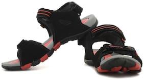 Sparx Men's Black & Red Sandal (SS-407)