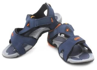 9efe53a76 Buy Sparx Men Navy Blue Sandals   Floaters Online at Low Prices in ...
