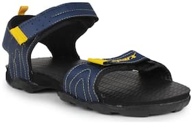 Sparx Men Navy Blue Sandals & Floaters
