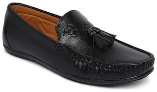 Stanfield Men Black Loafers - PA052-01001